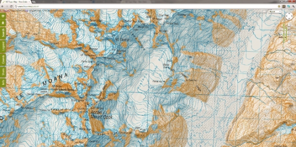 Free online topographic maps for hiking | DZJOW\'S ADVENTURE LOG